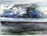 brooding sky