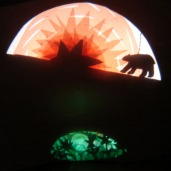 "image from shadowjam reminiscent of ""ursa's imaginings"", 2009. www.mindofasnail.org"