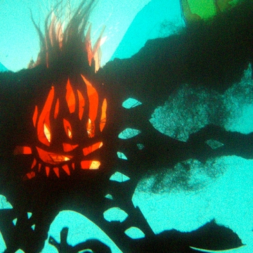 "detail from show ""ursa's imaginings"" www.mindofasnail.org"