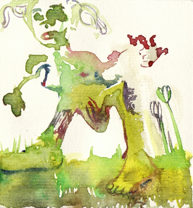 ploops watercolour gurl