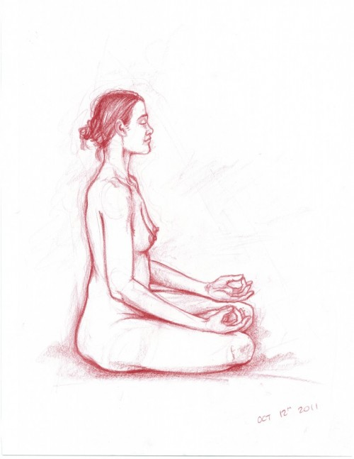 drawing of jessica by curt spurgling (maplewood house)