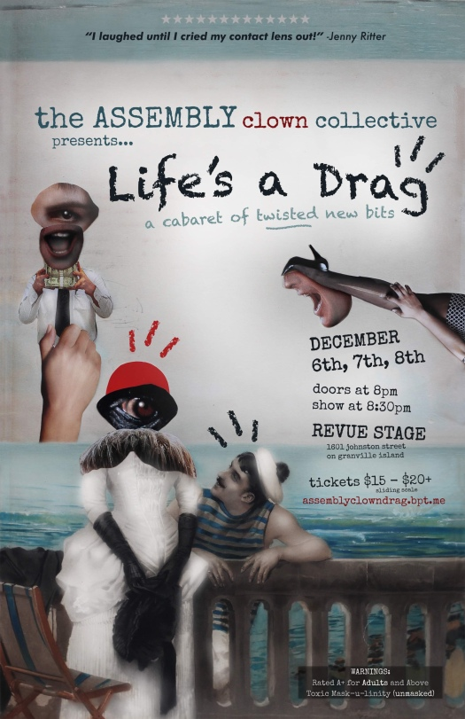 life's a drag poster